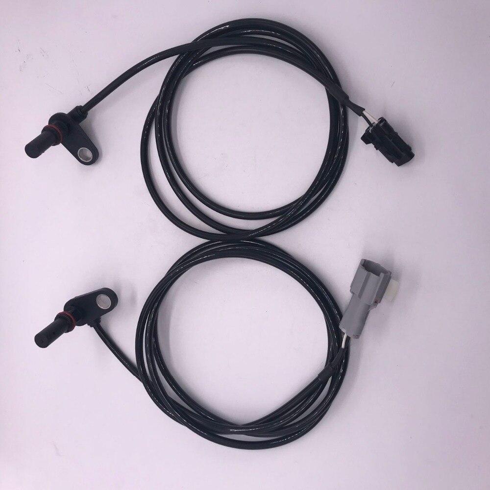 2 個 New の Abs 車輪速センサー MK585279 + MK585280 リア左と右三菱扶桑キャンター PRESTIJ FURO /5