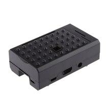 라스베리 파이 B +/Pi 2/Pi 3 용 블랙 인클로저 셸 케이스 박스 지원 카메라