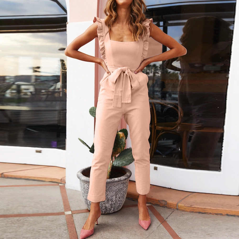 Vrouwen Jumpsuit Playsuit Losse Denim Romper Bodysuit Vrouwen Bodysuit Streetwear Jumpsuits Kant Bodysuit Clubwear Rechte Been H4