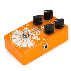 Image 4 - Pedal de guitarra Caline CP 54 OD, Overdrive, gran trituración naranja, Pedal de efectos de guitarra overdrive, efecto Bypass verdadero
