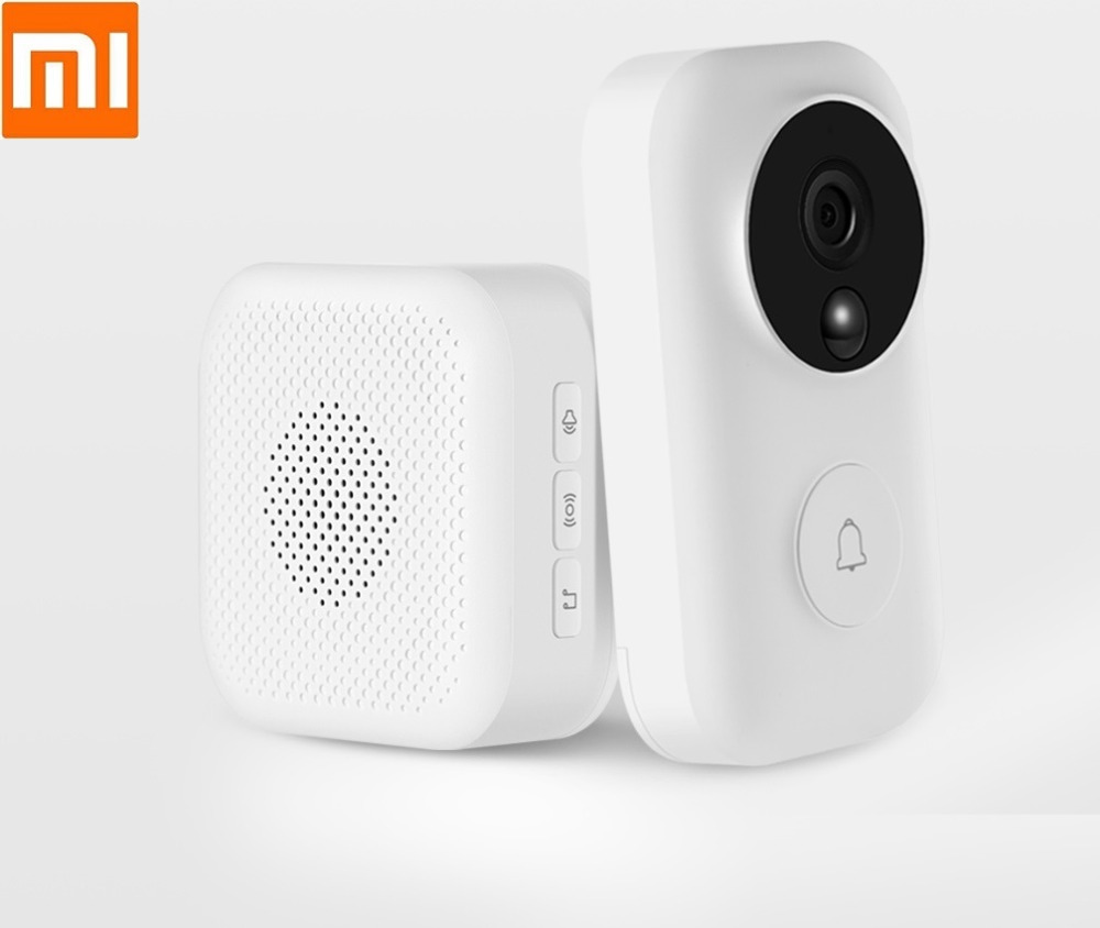 Xiaomi Zero AI face recognition 720P infrared night vision video doorbell set detection smart wifi remote