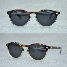 c8f517c2e4 2018 New Arrival OLIVER PEOPLES Sunglasses For Men Women Top Quality Round  Vintage Sun Glasses Polarized Zonnebril Mannen UV400