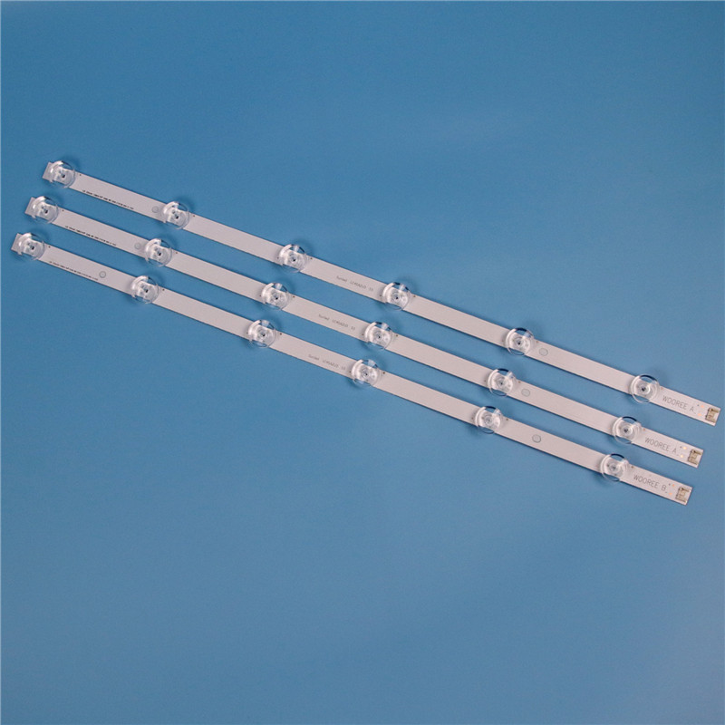 TV LED Backlight Strip For LG innotek drt 3 0 32 quot 32LB652V ZA LB653V ZK 6916l 1974A 6916l 1981A LC320DUE LV320DUE LED Bar Strip in Shell amp Body Parts from Consumer Electronics