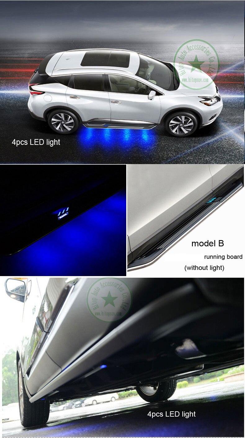 neueste populäre Trittbrettseitenschritt-Seitenstange für Nissan - Autoteile - Foto 5
