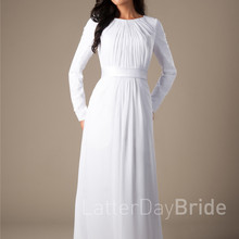 69e525a6ca Buy modest wedding dress and get free shipping on AliExpress.com