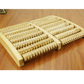 Wood Roller Foot Massager Stress Relief Heath Therapy Relax Massage Relaxation Health Care Therapy Acupoint  Massage 8 Rows