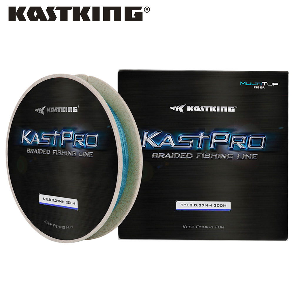 KastKing KastPro 300m 4 Strand 8 10 15 20 30 40 50 65 80LB Grass Green Blue MultiTuf Fiber Multifilament Braided Fishing Line