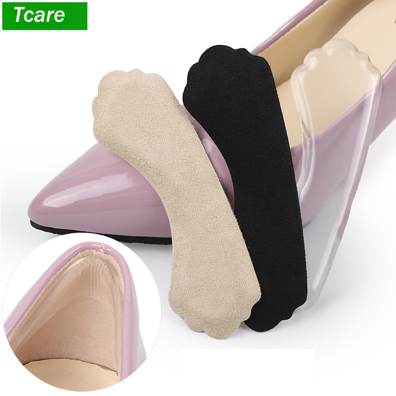 Unisex Non-slip Back Heel Pads With Adhesive For Loose Shoes Too Big