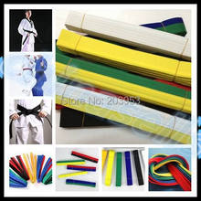 цена на 2.8M martial arts belt Karate Taekwondo Judo Jiu jitsu tae kwon do belt Karate Taekwondo tape