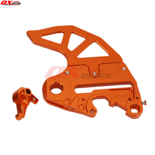 CNC Billet Rear Brake Disc Guard Adaptor Caliper Bracket for KTM SX SXF XC XCW XCF EXC EXCF EXCR 125-530 Motorcycle