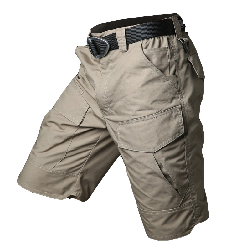 Tactical Military Quick drying Shorts Men Camo Army Short Pants Waterproof Cargo Shorts Multi Pocket Casual Trousers