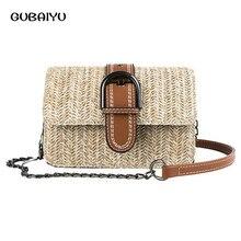 Plaited Article Women Pineapple Bag Woman New Chain Small Square Fashion Texture Shoulder Handbag Bags Bolsa Obag Mini