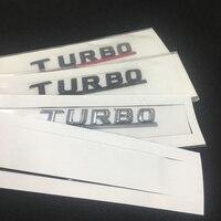 decals rear trunk emblem 2pcs/lot Car Emblem Fender Sticker For TURBO AMG Mercedes W212 W211 W210 W176 W204 W202 W163 CLA GLC Trunk Rear Sticker Decals (1)