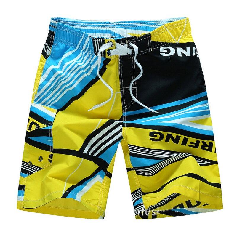 Brand   Board     Shorts   Swimsuits Quick Dry Beach   Shorts   Men Bermuda Swimswear Summer Boadshorts Mesh Lined Trunks Surfshorts