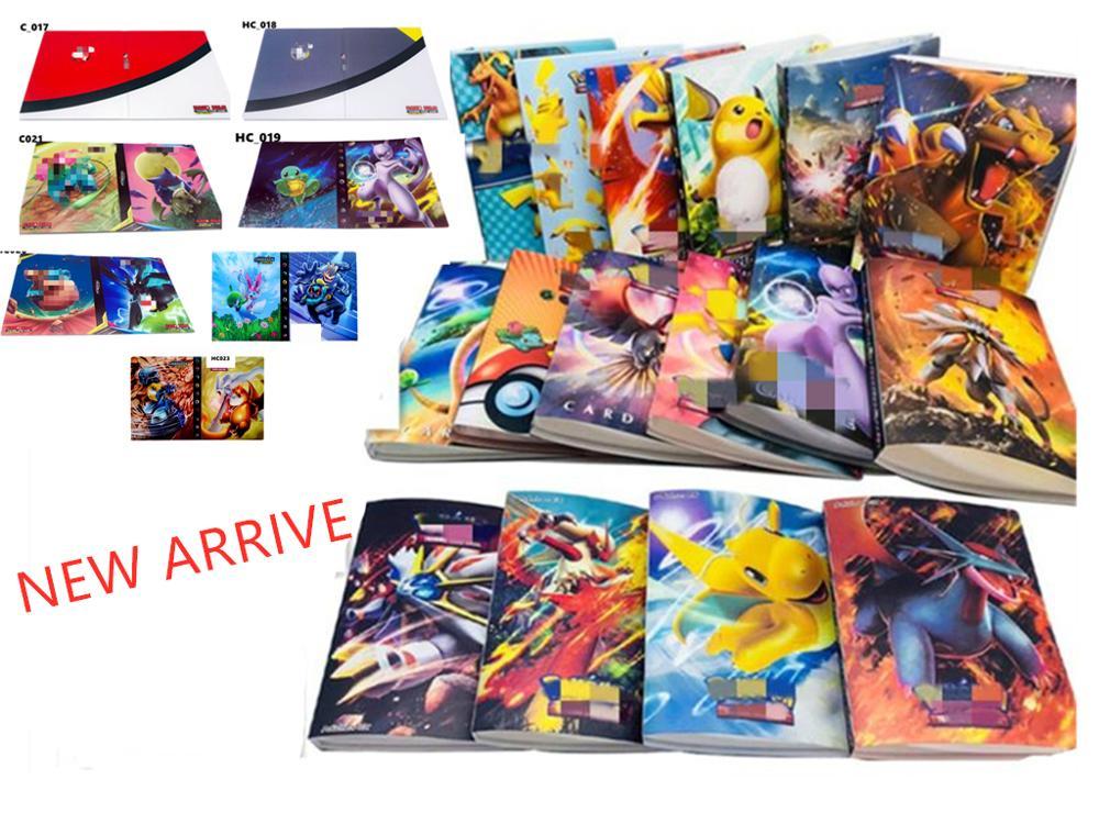 240pcs Board Game GX MEGA Album Book Cards Holder For Cartoon Game Carte Bus Card Bank Credit Card Toy