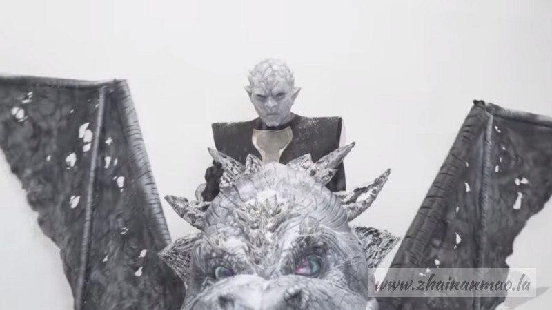 【捕鱼王】《冰与火之歌:权力游戏》,惊现谜片版巨龙后入龙后!