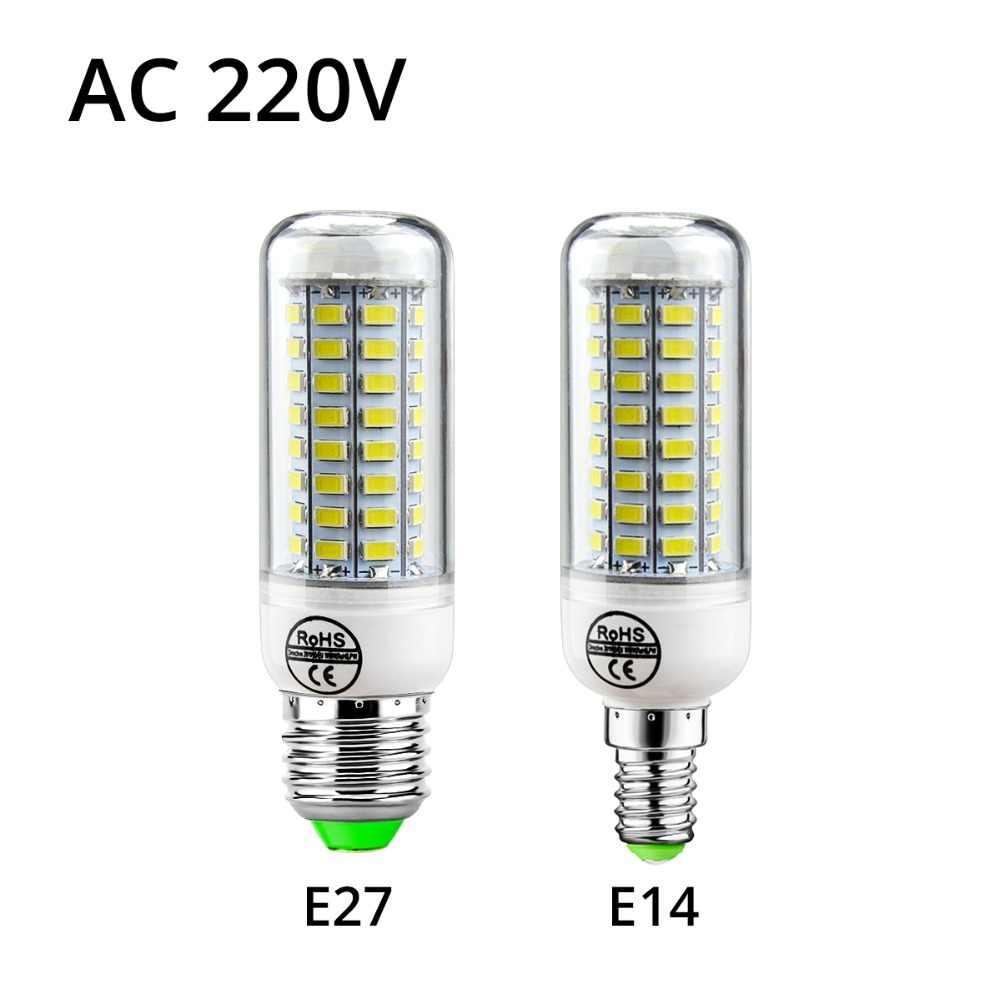 LED Cabinet lights Corn E27 lamp Candle E14 LED Bulb 220V Desk Table lamp Stairs Closet Chandelier Decoration Kitchen lighting