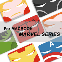 2019 Marvel Avengers case for MacBook Air Pro Retina 12 13 15 mac book Pro 13.3 15.4 inch Laptop Shell Case Keyboard Cover film
