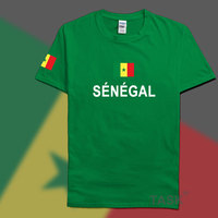 Senegal SEN Mens T Shirts Fashion 2016 Jerseys Nation 100 Cotton T Shirt Clothing Tees Country