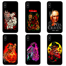 DK Wes Cravens New Nightmare phone case black soft cover for Samsung s8 s9plus S7Edge S5 for iPhone 6s 7 8plus 5 X XS XR XSMax