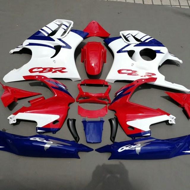 Motocicleta Completa Carroçaria Set Carenagem Para Honda Cbr600f Cbr