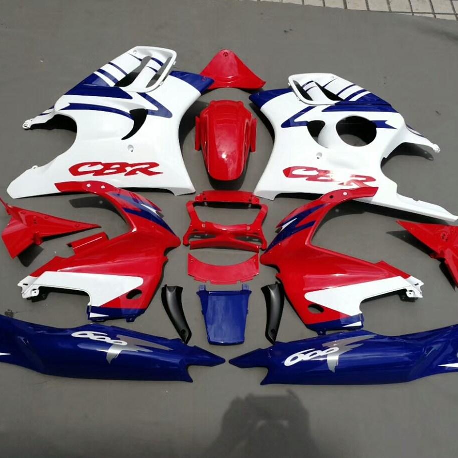Online Shop Motorcycle Full Bodywork Fairing Set For Honda Cbr600f3