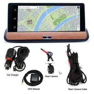 "Image 5 - XST 7 ""IPS 3G Wifi รถ DVR Dash กล้อง Android 5.0 GPS Navigation Video Recorder บลูทูธ Dual เลนส์ dash cam DVR Full HD 1080 P"
