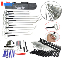 Paintless Dent Repair PDR Hooks Push Rods Reflector Board Tools For Dent Removal