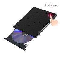 USB3 0 Slim Portable DVD Rewriter Burner External DVD Drive Optical Drive CD RW DVD