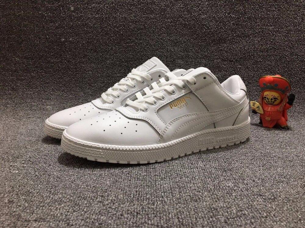 Puma New White Shoes New Sport Classic Kawasaki Engraved Shoes Badminton Shoes