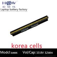 original LAPTOP battery 14.4V 32WH FOR Lenovo G400s G405s G410s G500s G505s G505s G510s S410p S510p Z710  genuine new free shipping for lenovo g410s g400s g405s flex lcd video cable dc02001rs10