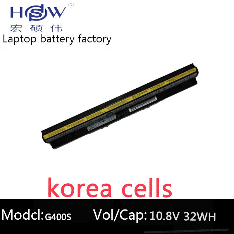 HSW genius LAPTOP battery 14.4V 32WH FOR Lenovo G400s G405s G410s G500s G505s G505s G510s S410p S510p Z710 bateria akku new original l12l4e01 laptop battery for lenovo g400s g405s g410s g500s g505s g510s s410p s510p z710 l12s4a02 l12m4e01 l12s4e01