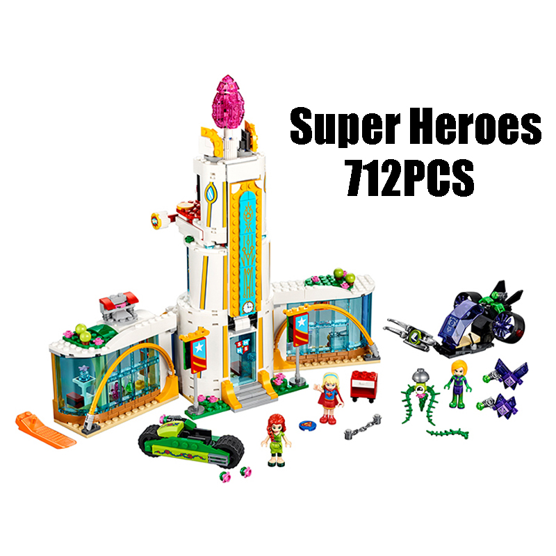 Compatible with Lego Super Hero 41232 Lepin 29001 High School Girl Friends Series building blocks Figure Bricks toy for children 8pcs lot movie super hero 2 avenger aochuang era kid baby toy figure building blocks sets model toys compatible with lego