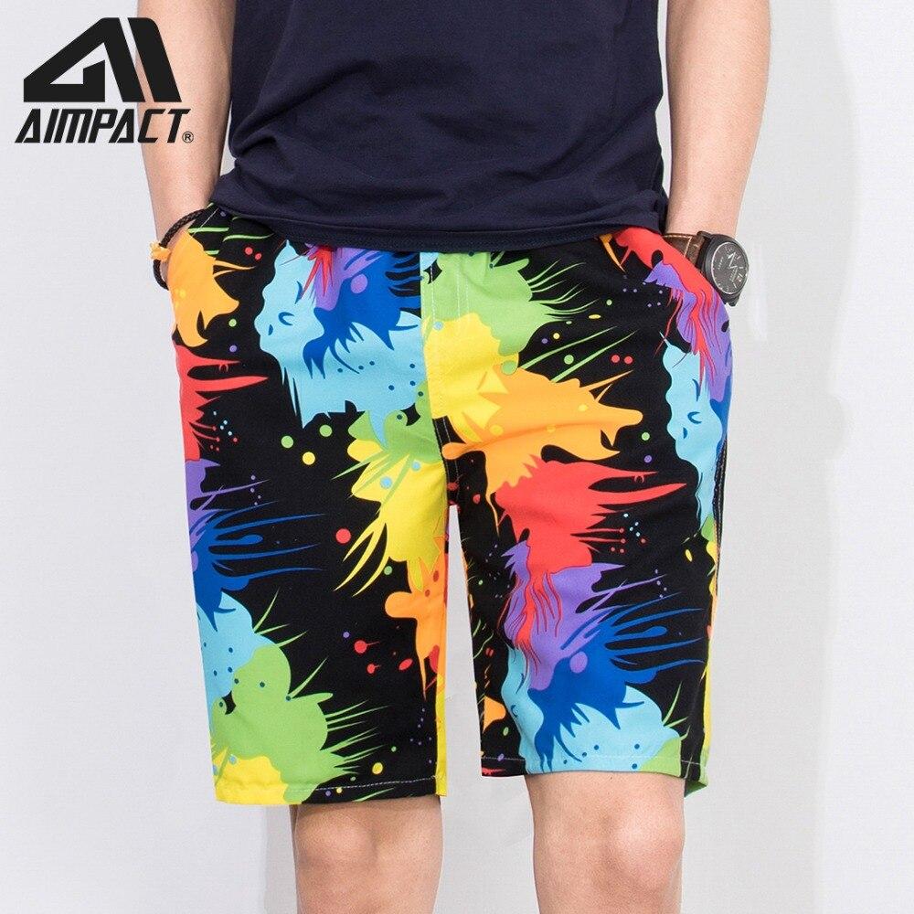 d3ce80f64362 Traje de baño con estampado de moda para hombres verano rápido seco Surf  playa natación Shorts 2019 nuevo deporte vacaciones pantalones cortos ...