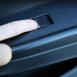 Image 5 - 7 Chiếc Đồng Hồ Thép Không Gỉ Dành Cho Xe Honda CRV CR V Phù Hợp Với Thành Phố Hiệp Định Cửa Sổ Nâng Nút Bấm Kim Sa Lấp Lánh Miếng Dán