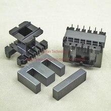 1 компл./лот EE50 PC40 ферритовый магнитный сердечник и 6pins+ 6pins, верхний вход Пластик бобины по индивидуальному заказу Напряжение трансформатор