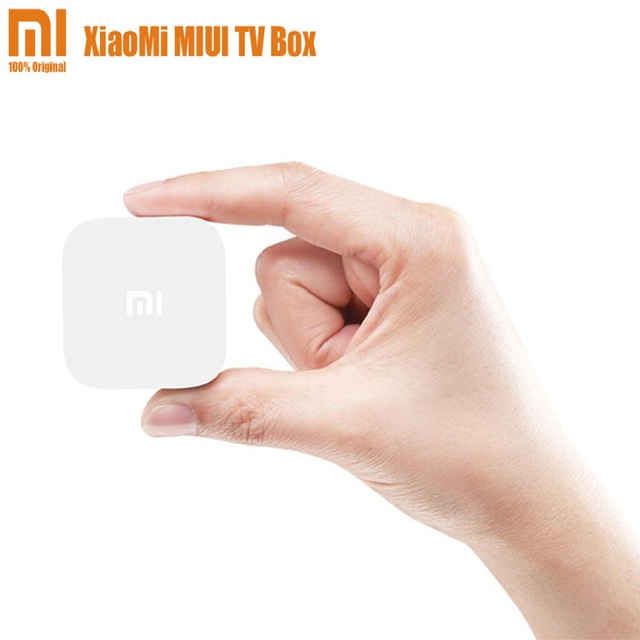 Original Xiaomi MIUI MI TV BOX TV Set-Top Box Smart Mini HD MT8685 Quad Core HD 1080P Smart Android  Mi TV BOX Media Player