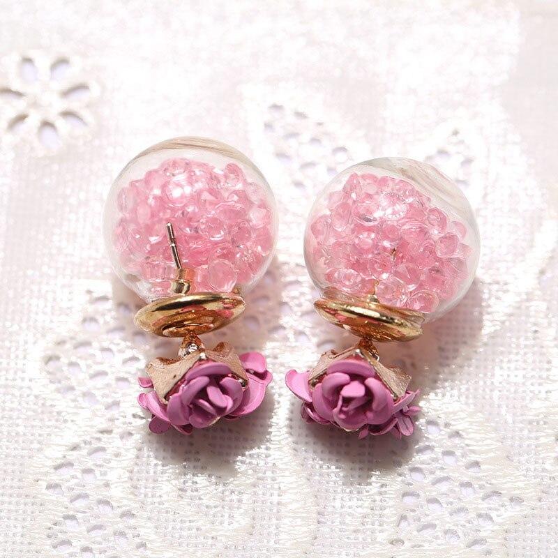 LNRRABC Cute/Romantic Stud Earrings Mult