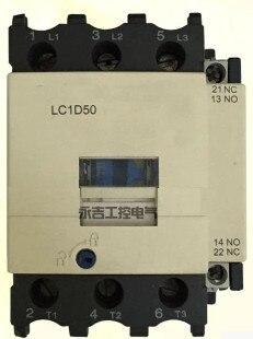 FREE SHIPPING Ac contactor LC1D50M7C LC1-D50 LC1D50Q7C 50A 110V220V380VFREE SHIPPING Ac contactor LC1D50M7C LC1-D50 LC1D50Q7C 50A 110V220V380V