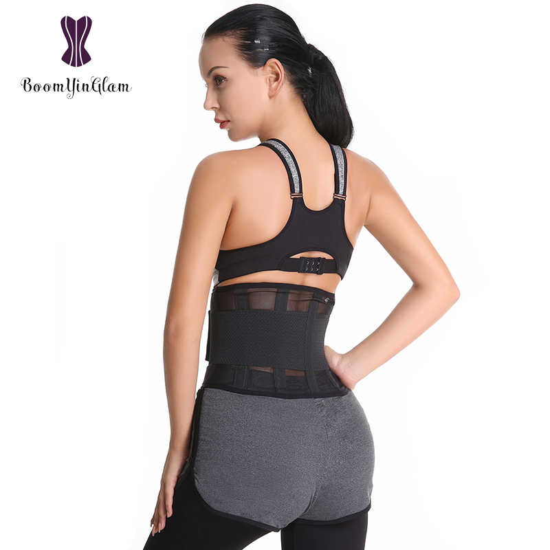 6687fa7f1 ... 7 Colors Choices Waist Trainer Xtreme Power Belt Fitness Waist Support Corset  Shaper Belt For Women ...