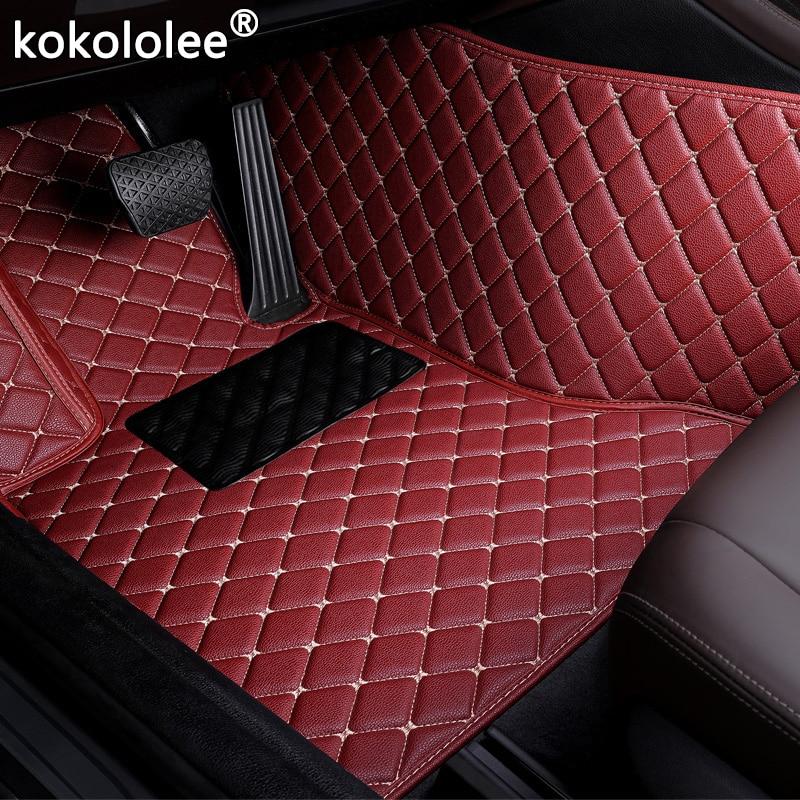 Car Floor Mats For Toyota 86 Corolla Camry Rav4 Prado Highlander Prius Yalis Sienna Alphard Venza Land Cruiser sequoia Crown Floor Mats     - title=