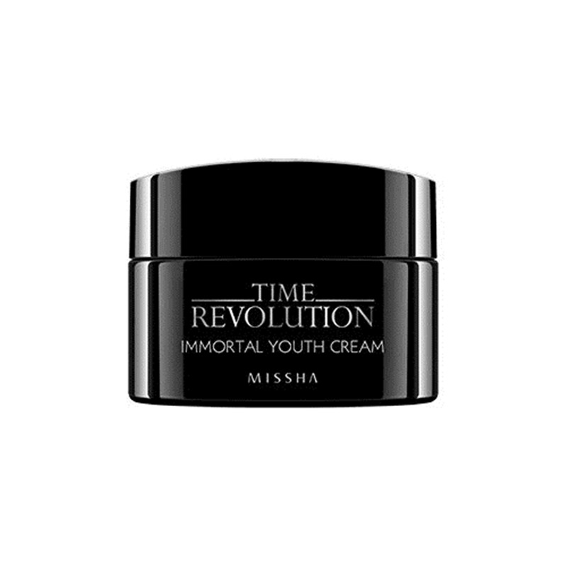 где купить Missha Time Revolution Immortal Youth Cream 50ml Anti-Wrinkle Care Whitening Korea Cosmetics дешево
