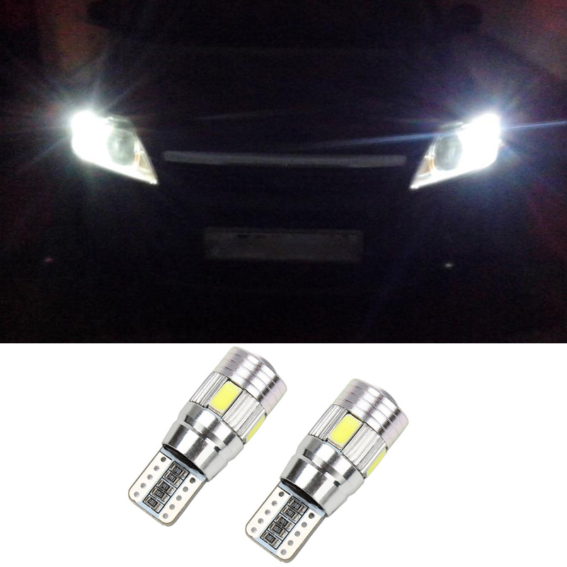 For Lada Granta Vaz Kalina 2 Priora Niva Samara 2110 Largus 2109 2107 <font><b>2106</b></font> 4x4 Canbus Car 5630 SMD T10 W5W LED Clearance Light image