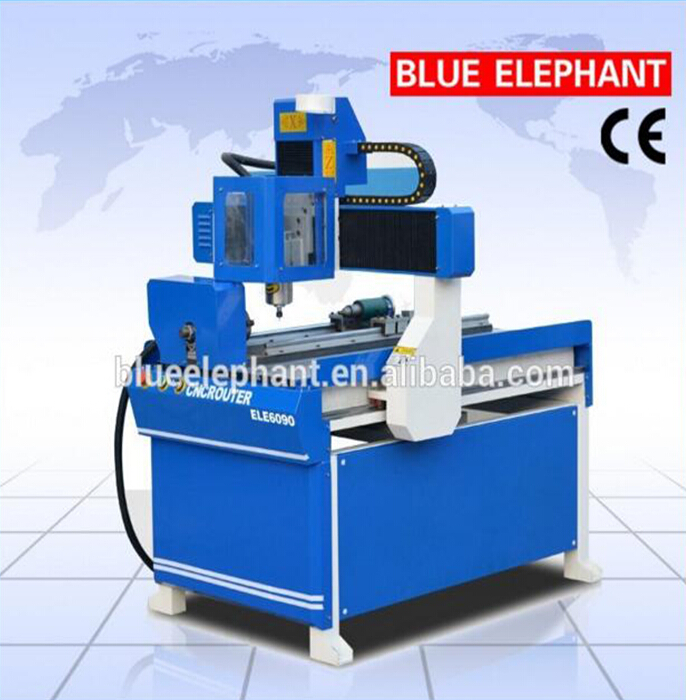 3d Engraving Machine Cnc Router 6090 4 Axis Cnc Woodworking