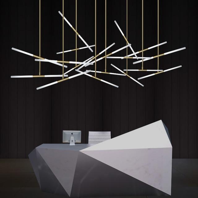Northern Europe Modern Creative Bar Lamp Reception Desk