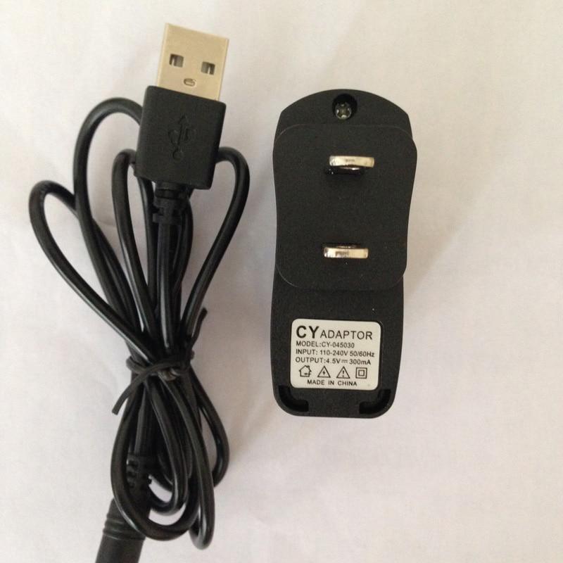 4,5 V 5 V AC DC netzteil USB ladegerät adapter für elektrische abnehmen zehntherapie massagegerät maschine