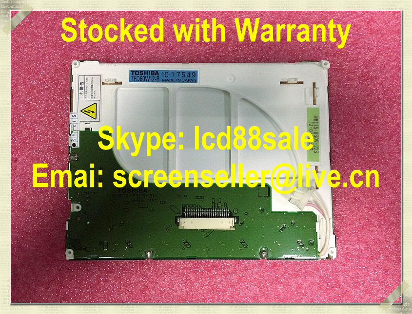 best price and quality  TFD60W12-B  industrial LCD Displaybest price and quality  TFD60W12-B  industrial LCD Display