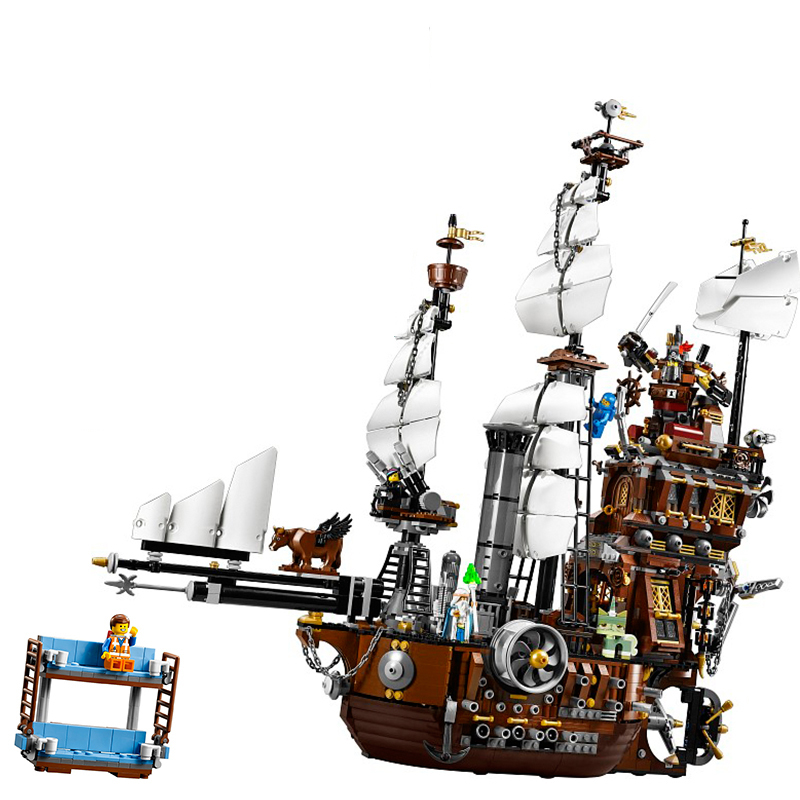 Lepin 16002 MetalBeard's Sea Cow building bricks blocks Toys for children boys Game Model Gift Compatible with Bela Decool 70810 free shipping lepin 16002 pirate ship metal beard s sea cow model building kits blocks bricks toys compatible with 70810