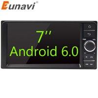 Eunavi Quad Core 7 2 Din Android 6 0 Car Radio GPS Navi For Toyota Hilux