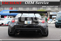 Car Styling Fiber Glass Rear Trunk Spoiler Fit For Toyota GT86 FT86 ZN6 FRS BRZ ZC6 Gerddy X Rocket Bunny Ver.1 Style GT Wing